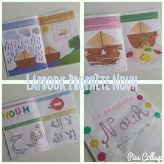 Lapbook livret d'activité sur le Prophète Nouh Nuh Noe Islam activité enfant support éducatif