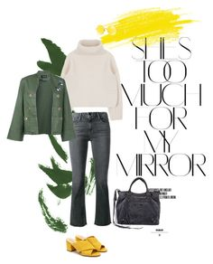 """Untitled #53"" by teaangelika on Polyvore featuring Rika, Frame, Sam Edelman, Ray-Ban, Elaidi and Balenciaga"