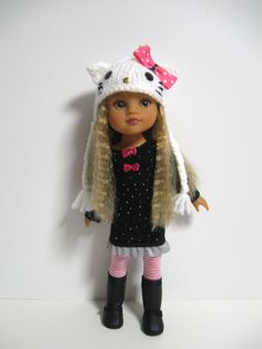 Hearts 4 Hearts Doll ClothesHello Kitty by 123MULBERRYSTREET