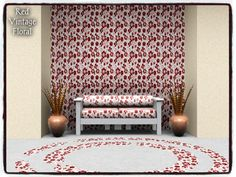 dowdell626's Red Vintage Floral_PATTERN
