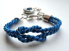Cobalt Rope - bransoletka w Bajobongo na DaWanda.com