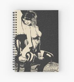 #Dirty, kinky, #naughty! Sexy #brunette girl nude posing • Also buy this #artwork on #stationery, apparel, stickers, and more. #sexy #girl #nude #erotic #kinky #naughty #dirty #naked #art #notebook #sketchbook #drawing #illustration #adult