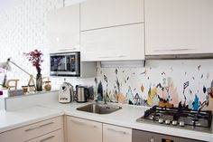 this kitchen .one time :) Kitchen Corner, House Design, Sweet Home, Interior Inspiration, Brick Wall, Interior, Kitchen, Kitchen Cabinets, Cheap Interior Design