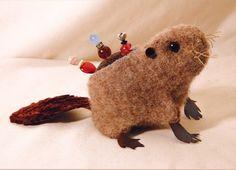 felted beaver