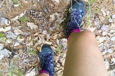 Salomon Comet 3D Lady GTX women's hiking boots at Bon Echo Provincial Park…