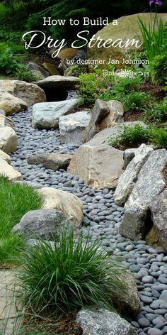 Garden Therapy did a piece from the book, The Spirit of Stone. I hope you like my dry streams - Jan Johnsen