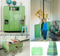 over Kinderkamer groen ★ Kids room green op Pinterest - Groen ...
