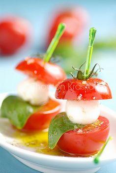 Mozzarella e pomodori (remake) | This is a remake of an old … | Flickr