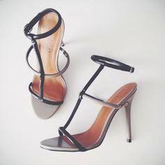 nasty gal Shoe Cult Flux Sandals - Grey/Black size 7.5 #nastygal #AnkleStrap