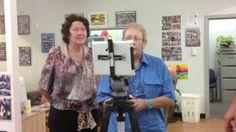 Making our own iPad tripod mount on Vimeo