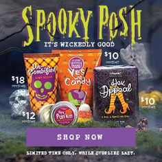 Spooky Posh Party! One person will win all perks :)