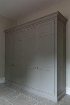 Boot room Pantry Cupboard, Cupboard Doors, Hallway Storage Cabinet, Georgian Interiors, Georgian Homes, Wardrobe Doors, Open Plan Kitchen, Cabinet Design, Home Projects