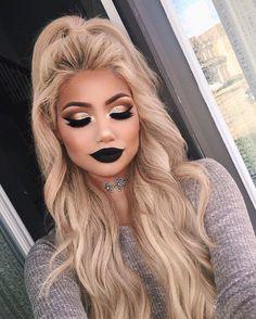 """Toronto  makeup makeupbyalinna@outlook.com FB:Makeup by Alinna Snapchat: makeupbyalinnaa  Bellami hair↓: """"Alina"""""""