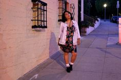 What I Wore to the Nylon x Aloft party