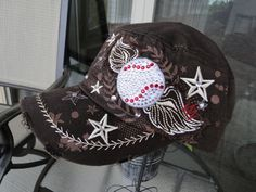 113 Best Baseball Caps Amp Cowgirl Bling Images In 2015