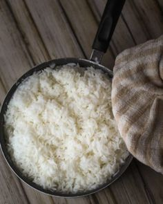 Make Perfect Rice Everytime With a Kitchen Towel – Forkly