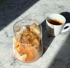 Iced Latte, Iced Coffee, Coffee Drinks, Getting Hungry, Food Goals, Aesthetic Food, Coffee Break, Yummy Drinks, Caffeine Addiction