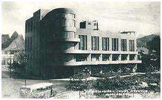 Cassino Atlântico na Avenida Atlântica, Posto 6, Copacabana, anos 40