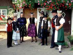 St. Peter, Schwarzwald, Germany  http://www.st-peter-schwarzwald.de/tracht.html - Here are 4 hats for the women  1. Schäppel 2. Kappe  3. Hut,  4. Kranz