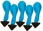 Turquoise LED Balloon Lights (5 Pack) - 4.25