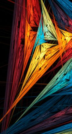 Colorful Sharp Shapes iPhone 6 Wallpaper Source by kocaelihalil Qhd Wallpaper, Abstract Iphone Wallpaper, Apple Wallpaper Iphone, Rainbow Wallpaper, Dark Wallpaper, Geometric Wallpaper, Trendy Wallpaper, Cellphone Wallpaper, Colorful Wallpaper