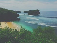 Our little paradise , Watukarung beach #Indonesia