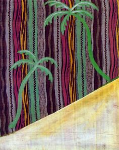 Two Palm Trees - Sigmar Polke, 1964