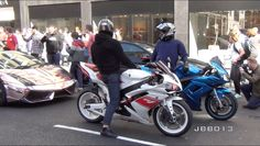 Superbikes and Supercars Go Crazy in the City!! - WATCH VIDEO HERE -> http://bestcar.solutions/superbikes-and-supercars-go-crazy-in-the-city     Knightsbridge area in central London has been stopped, with this invasion of supercars and supermarkets on the streets of the city. With, fast turns, accelerations and sounds, it did not take long to form an immense crowd, and for the police to appear! Stay up to date with all things...