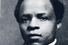 South African writer Solomon Plaatjie. He wrote the South African national anthem 'Nkosi Sikelel' iAfrika'. (God protect Afrika / God bless Afrika)