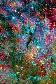 Doradus Nebula - looks like a Celebration in Space.