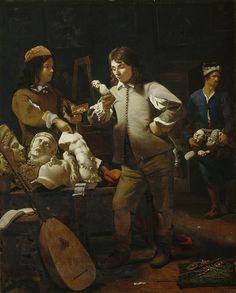 Michael Sweerts - In The Studio 1652