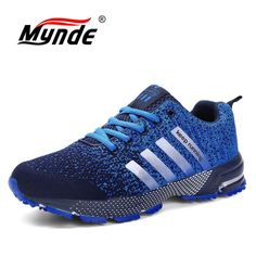 Promo Offer Hot sale 2018 New Trend Running Shoes Men Sneakers Breathable Mesh Shoes Eva Women Sport Runing Shoes plus large size Light Running Shoes, Trail Running Shoes, Running Sneakers, Running Shoes For Men, Running Women, Running Sports, Jogging Shoes, Woman Running, Moda Sneakers