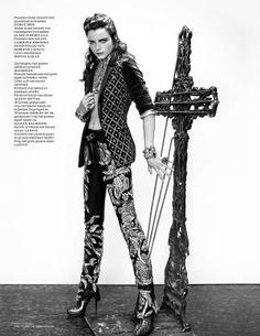 Modern Baroque Fashion - The Vogue Netherlands 'Neo-Victorian' Editorial Stars Anna de Rijk (GALLERY)