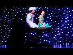 "Olivia Gesualdi (Jasmine) and Mikey Pion (Aladdin) singing a ""Whole New World"" from Aladdin Jr. Aladdin Show, Aladdin Play, Aladdin Theater, Aladdin Broadway, Aladdin Musical, Theatre, Aladdin Halloween, Aladdin Costume, Arabian Nights Party"