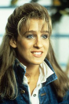 Beautiful bangs icon: Sarah Jessica Parker, 1985
