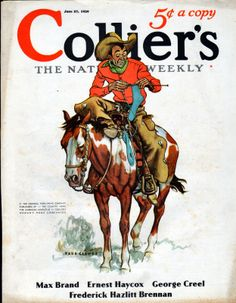 1936 Colliers Magazine Cover 962 | eBay