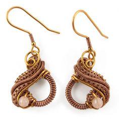 """Mini"" fülbevalók Wire Wrapped Jewelry, Minion, Handmade Jewelry, Drop Earrings, Vintage, Fashion, Moda, Fashion Styles, Minions"