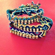 Friendship bracelet set, $35 AlexandraBeth.com
