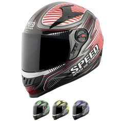 Speed And Strength SS1300 Speed Strong Full-Face Helmet