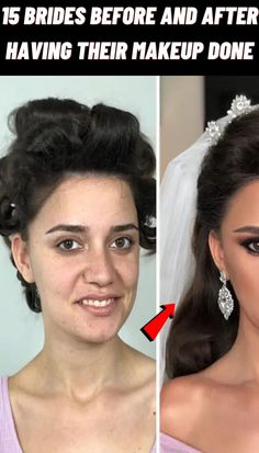 #Brides #Before #After #Makeup #Done Artistic Photography, Photography Tips, Amazing Photography, Travel Photography, Down Hairstyles, Braided Hairstyles, Wedding Hairstyles, Mens Dress Outfits, Modest Casual Outfits