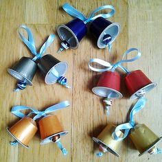 HOME DZINE Craft Ideas | Festive crafts with Nespresso capsules