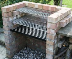 Heavy Duty 6mm Brick DIY BBQ Kit - SS104B