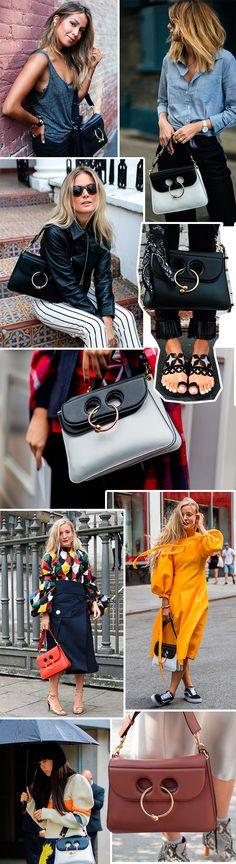 piercing bag do jw anderson está em alta entre as fashionistas