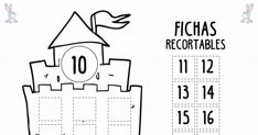 fichas decenas.pdf Coloring Pages For Kids, Free Printables, Math Equations, Teaching, Activities, School, Kids Learning Activities, Numbers For Kids, Sight Word Games
