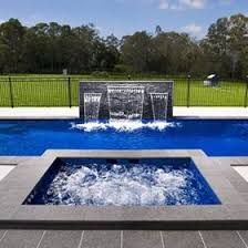 Swimming Pool Sheer Descent Walls Google Search Pool Water Features Pinterest Swimming