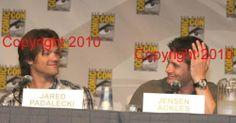 Jensen Ackles Jared Padalecki Original 8x12 Photo Supernatural Only Get Here | eBay........ starting bid, $3.50! Have lots other SPN ones, all can ship for $5.70. :)