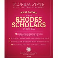So proud of FSU for the law school being so good!!