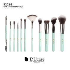 $20.99 --- WoW! I love these New comeing Macaroon Cosmetics Makeup Brush set! Get 30% off with coupon IZKDYNQ7 -- BUY IT NOW: http://www.amazon.com/dp/B01FM8J5OQ