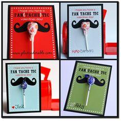 mustache valentines!