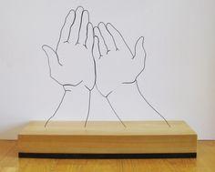 Gavin Worth - wire sculptures